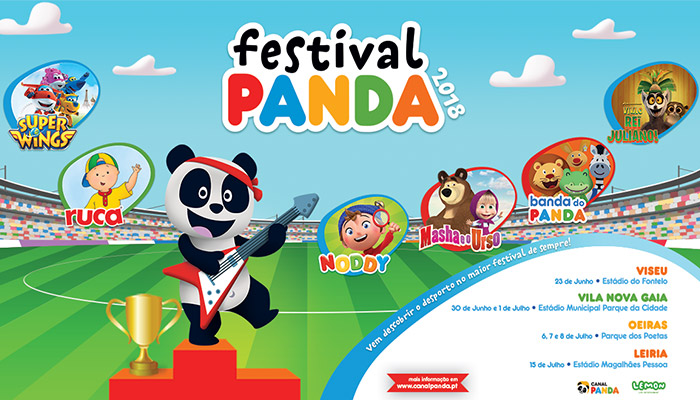 Dia Mundial da Criança e o Festival Panda!