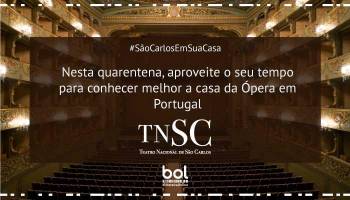 Saiba como conhecer melhor o Teatro Nacional de São Carlos