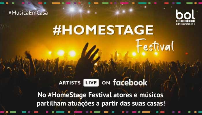 Saiba mais sobre o #HomeStage Festival!
