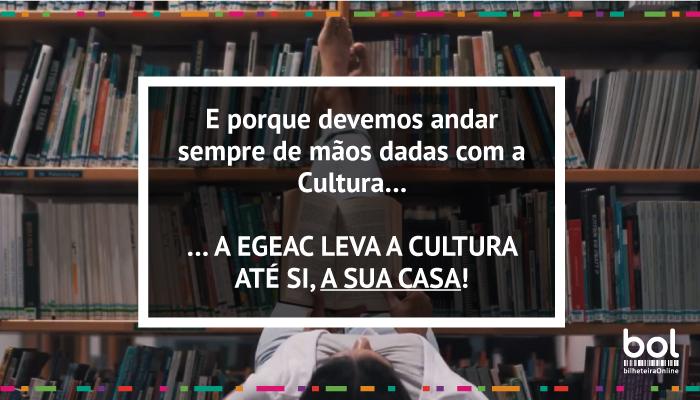 E porque devemos andar sempre de mãos dadas com a Cultura…