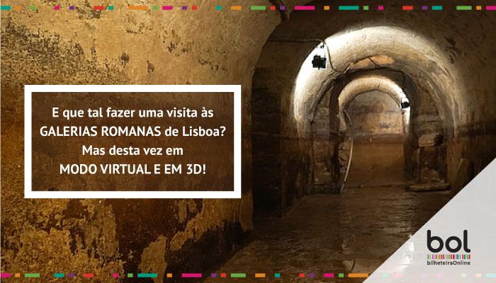 E que tal fazer uma visita às Galerias Romanas de Lisboa?