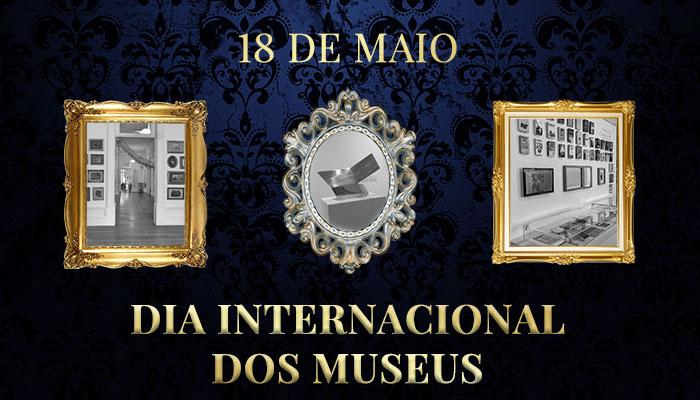 Emoldure-se de Arte no Dia Internacional dos Museus