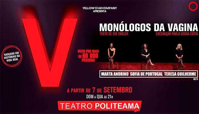 Monólogos da Vagina no Teatro Politeama