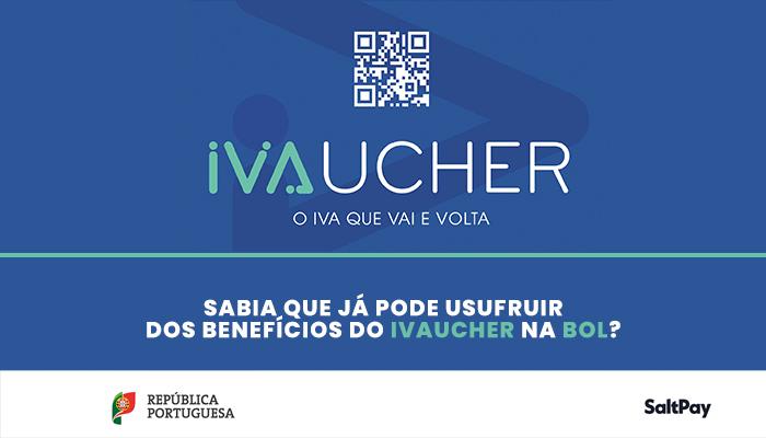 Sabia que já pode usufruir dos benefícios do IVAucher na BOL?