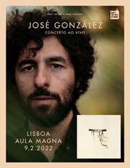 """José González """"In Our Nature"""" - Aula Magna"""