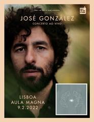 "José González ""Vestiges & Claws"" - Aula Magna"