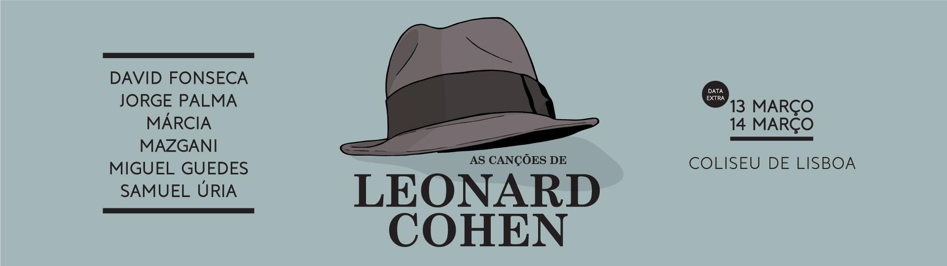 CANÇÕES DE LEONARD COHEN