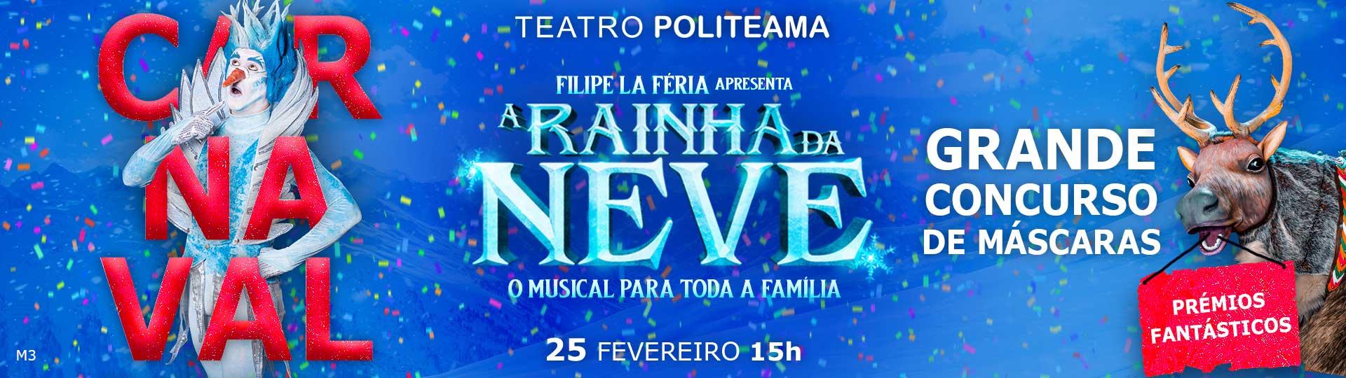 Rainha Neve- Especial Carnaval