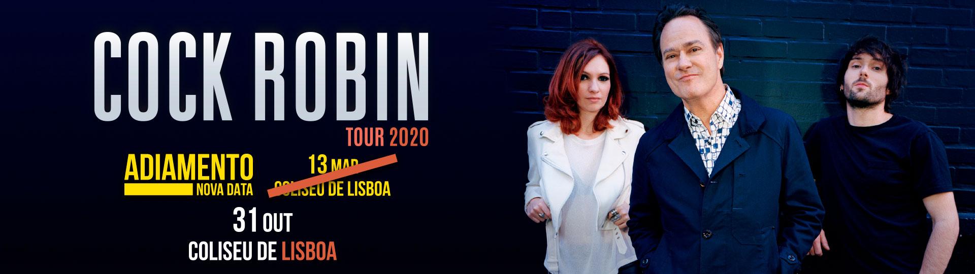 COCK ROBIN | TOUR 2020 adiado