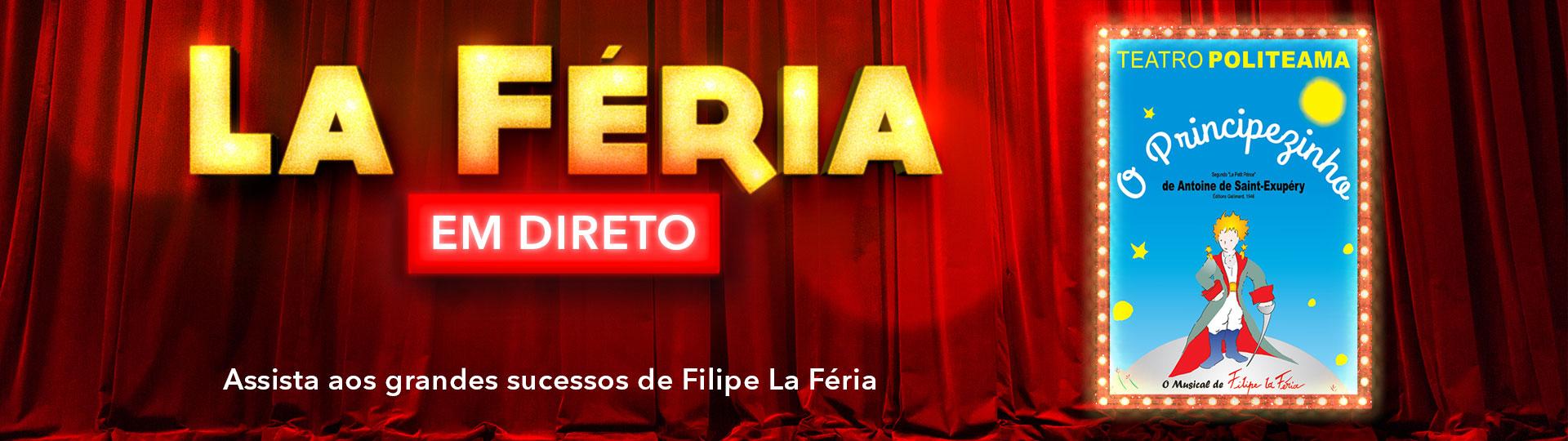 O PRINCIPEZINHO - O MUSICAL DE FILIPE LA FÉRIA