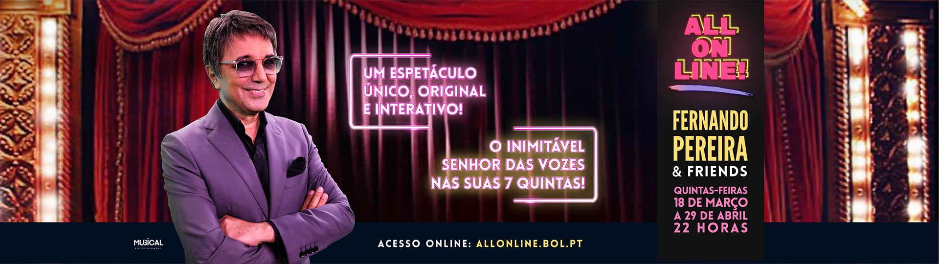 ALL ON LINE - FERNANDO PEREIRA