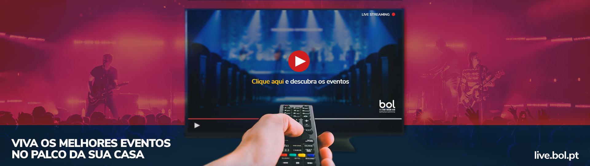 Eventos Streaming Anúncio BOL