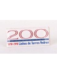 Pins 200 anos Linhas de Torres