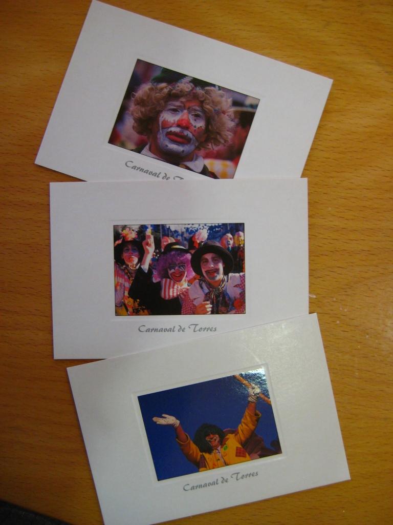 Postal Carnaval de Torres